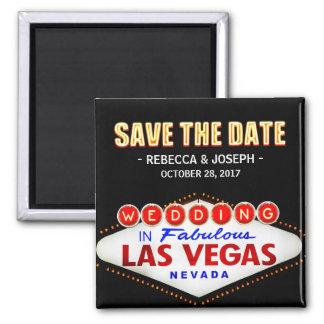 Onthaal aan het Teken van het Neon van Las Vegas - Magneet