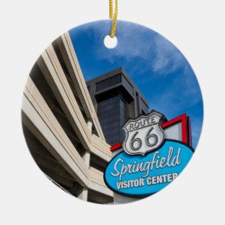 Onthaal aan MO van Springfield Rond Keramisch Ornament