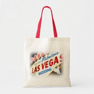 Onthaal AAN ONZE Zak van Las Vegas van de Bruid &  Draagtas