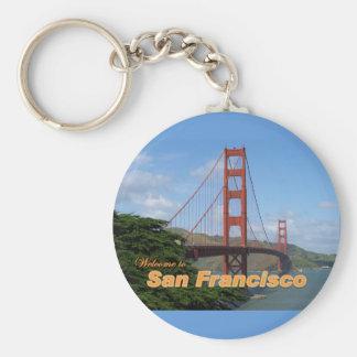 Onthaal aan San Francisco - Golden gate bridge Sleutelhanger