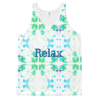 Ontspan All-Over-Print Tank Top