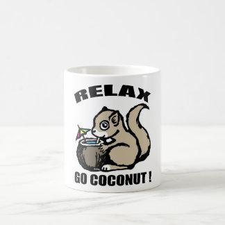 Ontspan! Ga Kokosnoot Koffiemok