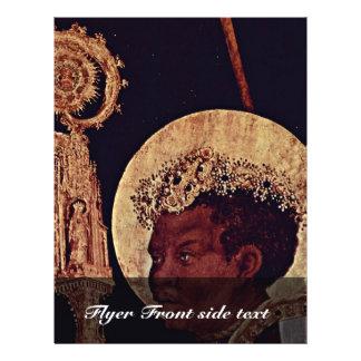 Ontvangst van St. Erasmus door St. Mauritius door Flyer 21,6 X 27,9 Cm