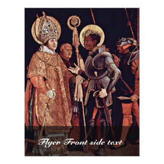 Ontvangst van St. Erasmus door St. Mauritius Flyer 21,6 X 27,9 Cm