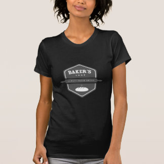 Ontwerp 12 van de bakkerij t shirts