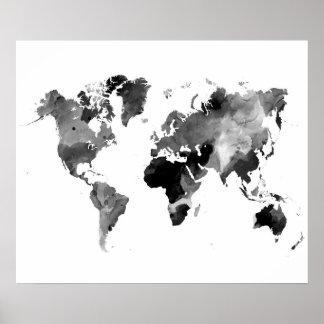 Ontwerp 42 wereldkaart poster
