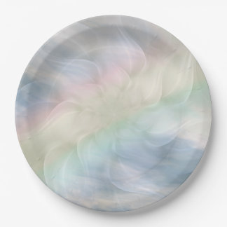 Ontwerp Mandala van de Pastelkleur van de Papieren Bordje