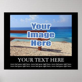 Ontwerp Uw Eigen Gepersonaliseerde Afbeelding en Poster