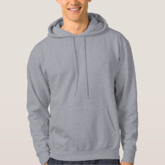 Ontwerp Uw Eigen Grijs Sweatshirt Met Hoodie