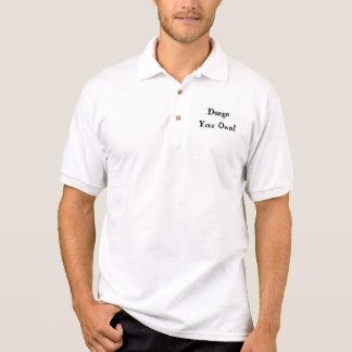 Ontwerp Uw Eigen Wit Polo Shirt