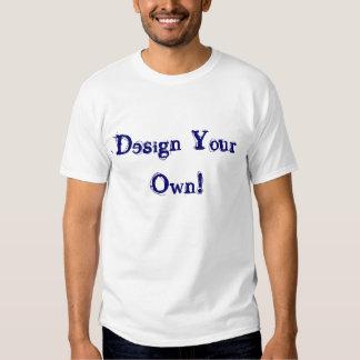 Ontwerp Uw Eigen Zilver T-shirts