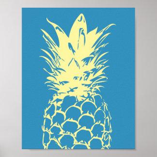 Ontwerp van de Ananas van de Kunst van de muur het Poster