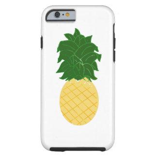 Ontwerp van de Ananas van de waterverf het Tough iPhone 6 Hoesje