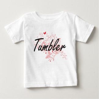 Ontwerp van de Baan van de tuimelschakelaar het Baby T Shirts