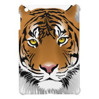 Ontwerp van de Druk van de tijger het Hoofd iPad Mini Cases