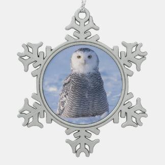 Ontwerp van de Foto van de Scène van de Winter van Tin Sneeuwvlok Ornament