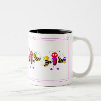 Ontwerp van de Mok van de Lieveheersbeestjes en