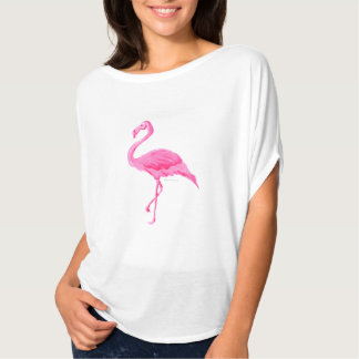 Ontwerp van de T-shirt van Flowy van de Flamingo