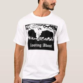 Ontwerp van de T-shirt van het Everzwijn het