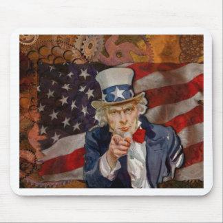 Ontwerp van de Vlag van SAM het Patriottische de Muismat