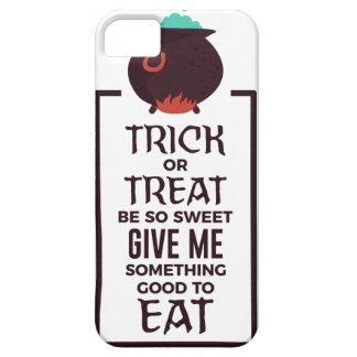 Ontwerp van Halloween van het Snoep van het trick Barely There iPhone 5 Hoesje