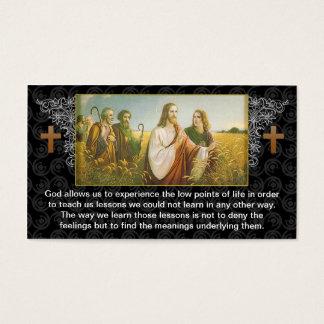 Ontwerp van het de gods het godsdienstige visitekaartjes