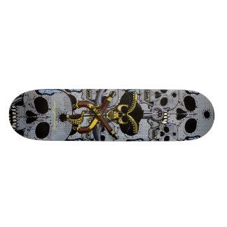 Ontwerp van het de schedel het koele skateboard va