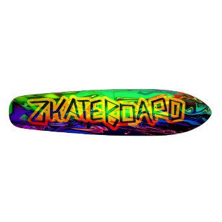 Ontwerp van het Dek van Zkateboard het 19,7 Cm Skateboard Deck