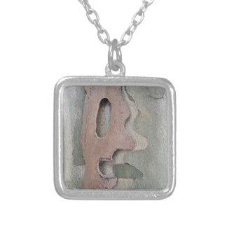 ontworpen door natuur zilver vergulden ketting