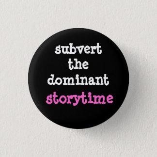 Ontwricht de Dominante knoop Storytime Ronde Button 3,2 Cm