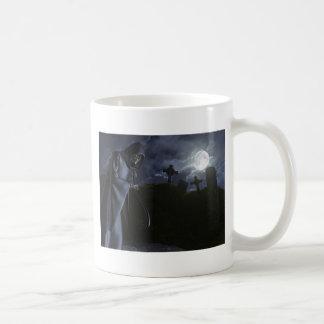Onverbiddelijke Maaimachine bij het Kantoor Koffiemok
