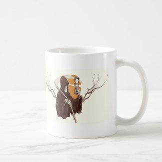 Onverbiddelijke Maaimachine en het Zand van Tijd Koffiemok