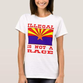 Onwettig niet is een Ras T Shirt