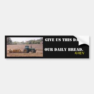 Onze dagelijkse sticker van de broodtractor