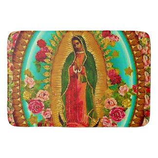 Onze Dame Guadalupe Mexican Saint Virgin Mary Badmatten