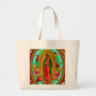 Onze Dame Guadalupe Mexican Saint Virgin Mary Grote Draagtas