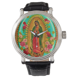 Onze Dame Guadalupe Mexican Saint Virgin Mary Horloges