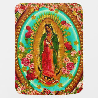 Onze Dame Guadalupe Mexican Saint Virgin Mary Inbakerdoek