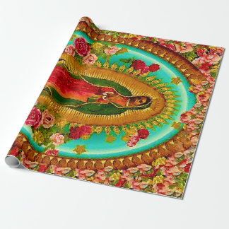 Onze Dame Guadalupe Mexican Saint Virgin Mary Inpakpapier