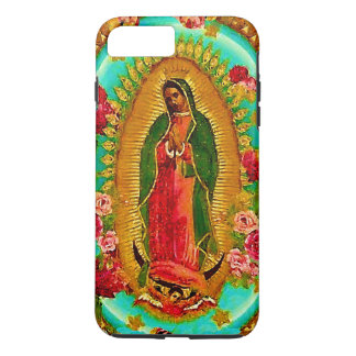 Onze Dame Guadalupe Mexican Saint Virgin Mary iPhone 8/7 Plus Hoesje