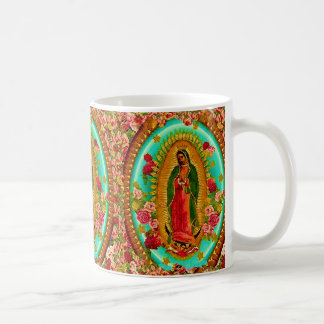 Onze Dame Guadalupe Mexican Saint Virgin Mary Koffiemok
