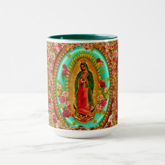 Onze Dame Guadalupe Mexican Saint Virgin Mary Mok