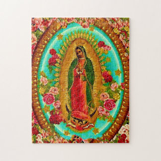 Onze Dame Guadalupe Mexican Saint Virgin Mary Puzzel