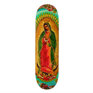 Onze Dame Guadalupe Mexican Saint Virgin Mary Skateboard Decks