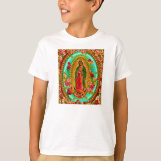 Onze Dame Guadalupe Mexican Saint Virgin Mary T Shirt