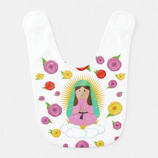 Onze Dame van Guadalupe Baby Slabbetje
