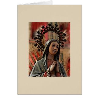 Onze Dame van Guadalupe lege kaart