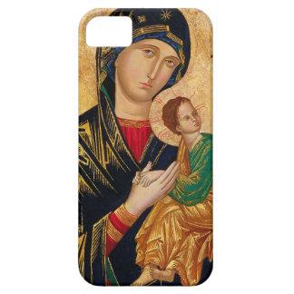Onze Dame van het Eeuwige Pictogram Maagdelijke Barely There iPhone 5 Hoesje