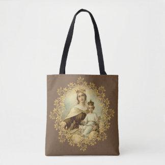 Onze Dame van Mt. Carmel & St. Therese van Lisieux Draagtas