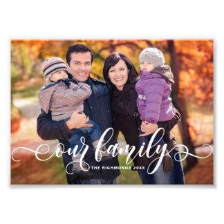 Onze Foto van de Familie van de Bekleding van de